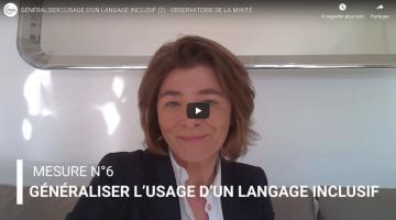 Mesure n°6 - Généraliser l'usage d'un langage inclusif (2)