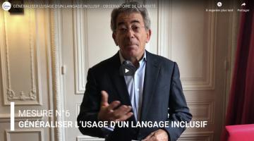 Mesure n°6 - Généraliser l'usage d'un langage inclusif