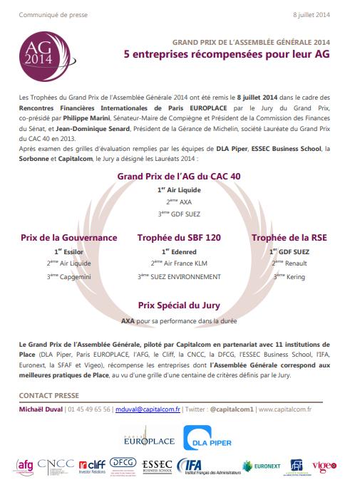 CP Grands Prix de lAG 2014 1