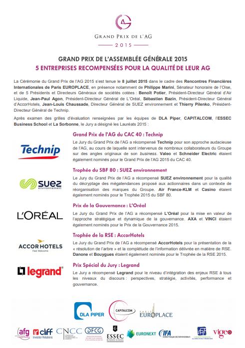 CP Grands Prix de lAG 2015