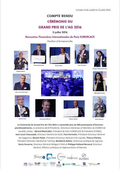 Ceremonie gpagm 2016 1